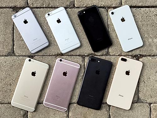 Sau nhiều năm xuất hiện, giá của iPhone 6s, 7, 7 Plus hay 8 đã xuống dưới 10 triệu đồng và ngang với các mẫu Android tầm trung, giá rẻ.