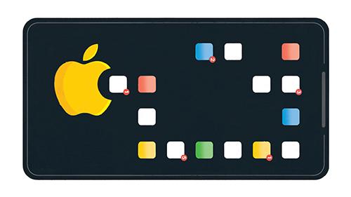 Apple bị tố đang loại bỏ ứng dụng chống nghiện iPhone của đối thủ. Ảnh: New York Times.