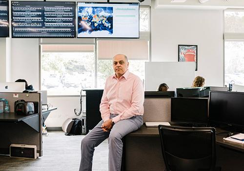 Amir Moussavian, giám đốc điều hành của OurPact. Ảnh: New York Times