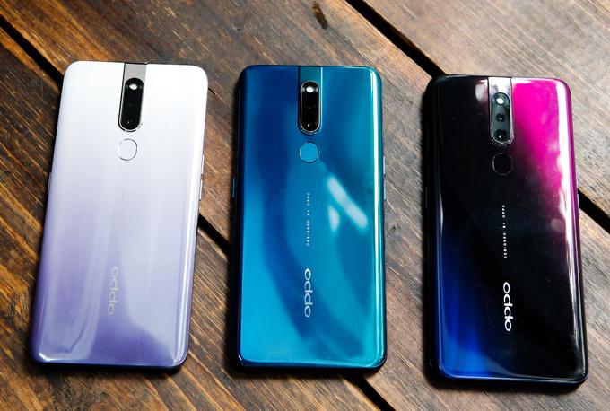 Oppo F11 Pro nâng cấp cấu hình, thêm màu mới