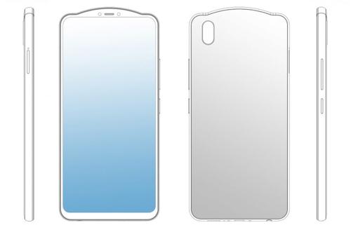 Ở phiên bản thứ hai, hệ thống camera cũng cong lồi lên và được đặt ở chính giữa. Thiết kế này khá giống với ý tưởng của Huawei.