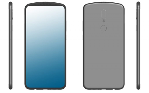 Đầu tháng 5, một bằng sáng chế từ năm 2018 của Huawei, tương tự như của Vivo, cũng xuất hiện trên mạng. Máy có màn hình không tai thỏ hay nốt ruồi, vì camera được đặt ở phần vòm phía trên đỉnh máy.