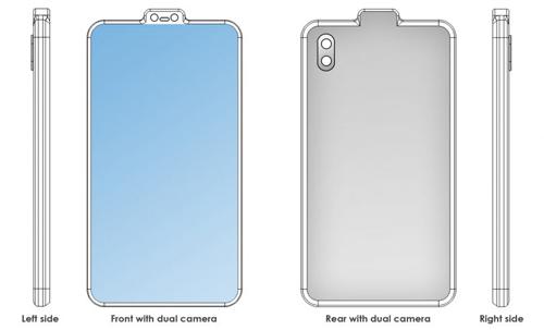 Trong khi đó, hồi cuối tháng 4, một thiết kế điện thoại trông như robot của Xiaomi cũng gây ấn tượng. Smartphone này cũng có camera dạng lồi ngược với hai ống kính như cặp mắt của người máy.