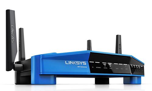 Một thiết bị mạng của Linksys.