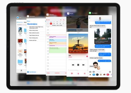 Tính năng Split View và Slide Over sẽ giúp iPad làm việc tốt hơn.
