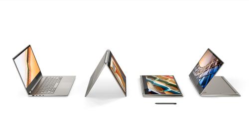 Trong mức giá 50 triệu, người dùng có thể sở hữulaptop gập xoaytrang bị màn hình cảm ứng, độ phân giải 4K, cấu hình khủng như: bộ xử lý Intel core i7-8550U, ổ cứng SSD 512 GB và Ram 16 GB, Windows 10 Home EM, Office 365 Home...