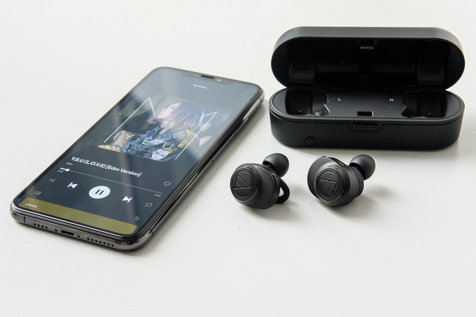 Tai nghe True Wireless đầu tiên có DAC