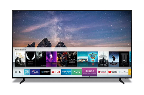 Hệ điều hành Tizen trên TV Samsung.