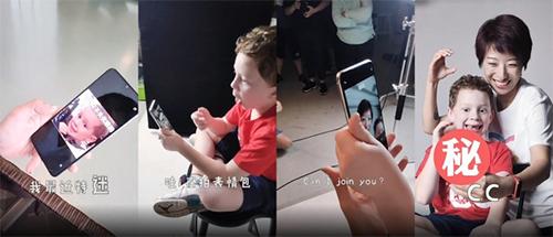 Gavin Thomas trong video quảng cáo Xiaomi Mi CC9e.