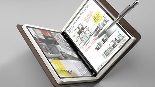 Courier - máy tính bảng với màn hình gập đôi như sổ tay từng được Microsoft hé lộ 10 năm trước.