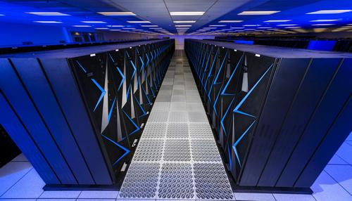 Siêu máy tính IBM Sierra của Mỹ. Ảnh: Cnet.