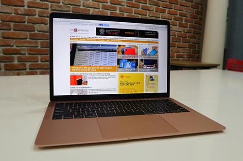 MacBook Air 2018. Ảnh: Bảo Lâm.