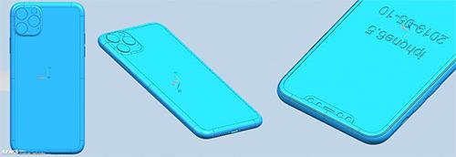 iPhone XI Max màn hình 6,5 inch.