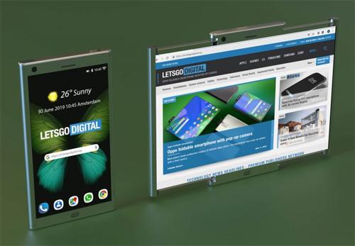 Ảnh dựng smartphone màn hình kéo của Samsung - 1