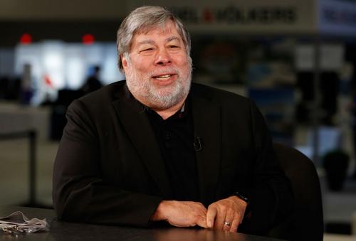 Đồng sáng lập Apple Steve Wozniak. Ảnh: CNBC.
