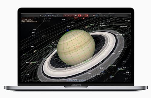 MacBook Pro 13 inch mới cũng được Apple nâng cấp phần cứng.
