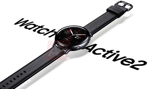 Ảnh rò rỉ Galaxy Watch Active 2.