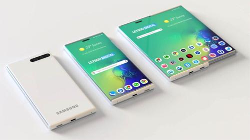 Smartphone với màn hình kéo sang phải của Samsung - Ảnh 1