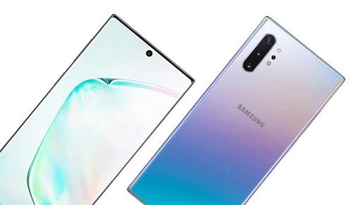 Hình rò rỉ Samsung Galaxy Note 10. Ảnh: SamMobile