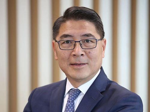 Zhang Minggang, Phó Giám đốc điều hành Huawei tại thị trường Pháp.