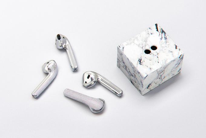 Apple AirPods làm từ vàng trắng có giá 20.000 USD