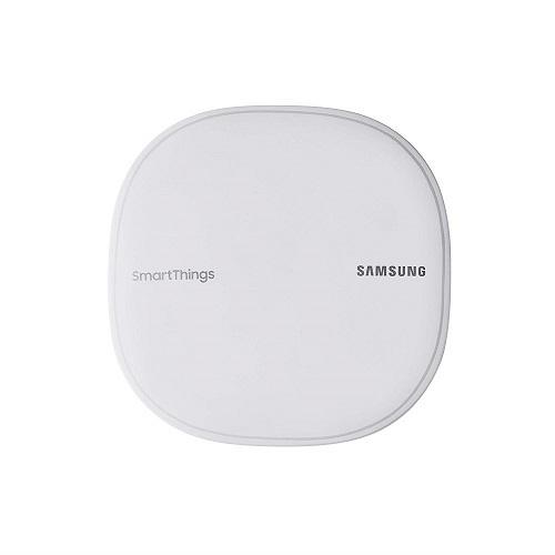 Samsung SmartThings Wifi Mesh Router Range Extender: Được cải tiến từ Smartting Hub cơ bản, sản phẩm này được tích hợp thêm chế độ tăng sóng wifi. Với ứng dụng Smartting, người dùng có thể điều khiển bằng giọng nói cho hơn 100 thiết bị thông minh.