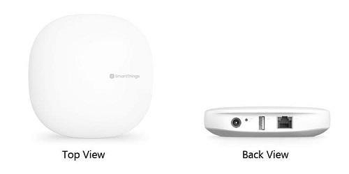 Samsung Smartthing Hub thế hệ 3: Là sản phẩm có khả năng kết nối với các thiết bị thông minh của hơn 40 thương hiệu khác nhau. Các thiết bị có thể kết nối được với sản phẩm thế hệ 3 này của Samsung gồm có đèn, công tắc, loa, camera... và khả năng điều khiển bằng giọng nói.