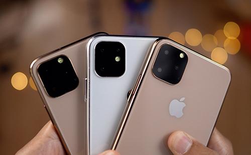 Chân dung bộ ba iPhone 11 dựa trên tin đồn.