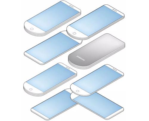 Samsung thiết kế smartphone xòe quạt