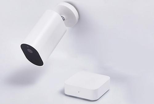 Giải pháp camera tích hợp pin của Xiaomi giúp lắp đặt tại những vị trí khó.