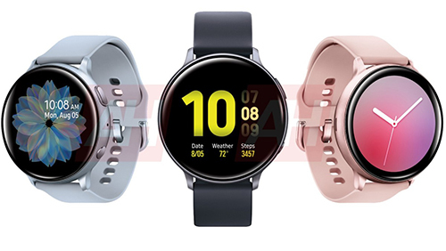 Ba màu của Galaxy Watch Active 2.
