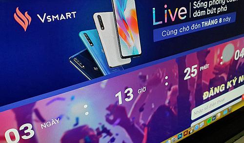 VinSmart sắp ra điện thoại camera 48 'chấm'