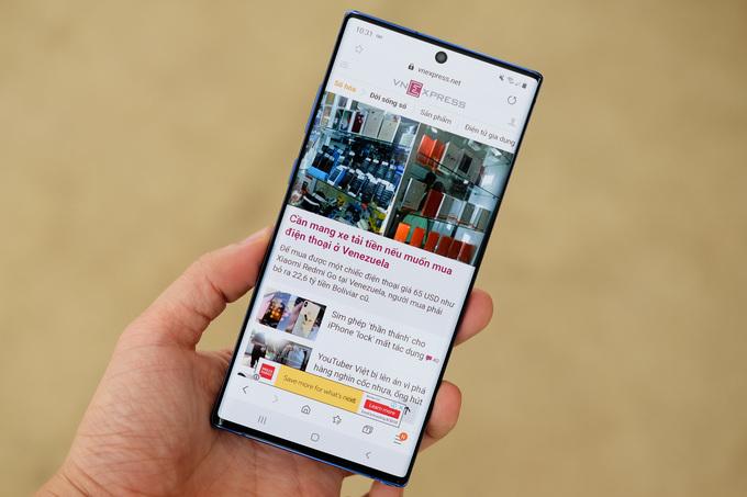 Galaxy Note10+, smartphone cao cấp màn hình lớn nhất của Samsung
