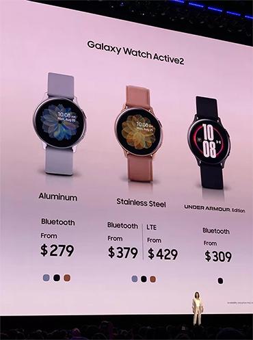 Galaxy Watch Active có bản đặc biệt hợp tác sản xuất với Nike.