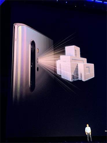 Note 10+ có thêm camera DepthVision để quét vật thể 3D.