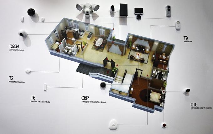 Hệ thống nhà thông minh giá từ 10 triệu đồng