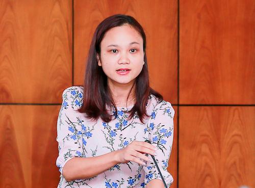 Bà Nguyễn Thị Thu Trang, giảng viên Đại học Bách Khoa Hà Nội.