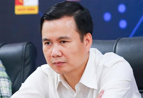 Ông Bùi Thế Duy, Thứ trưởng Bộ khoa học và Công nghệ Việt Nam,tại hội thảo chuyên đề về xây dựng cộng đồng AI tại Việt Nam.