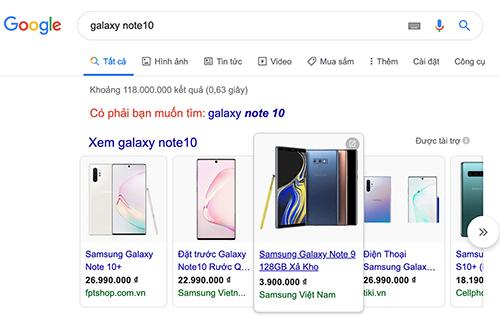 Galaxy Note10+ giá hơn 4 triệu trên website giả Samsung Việt Nam - ảnh 2