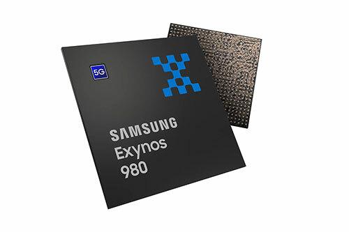 Chip xử lý di động Exynos 980.