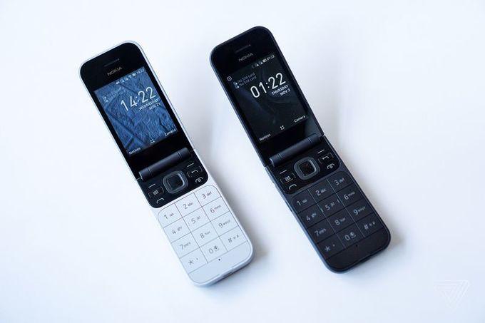 Điện thoại nắp gập Nokia 2720 ra mắt