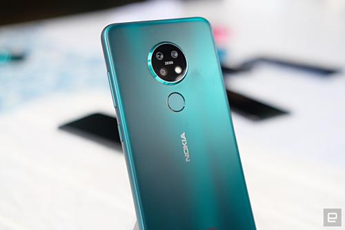 Nokia 7.2. Ảnh: Engadget