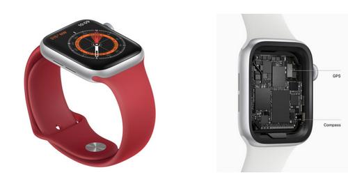 Apple Watch Series 5 có la bàn với độ chính xác cao.