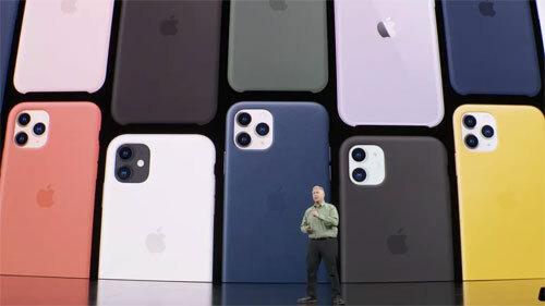 Apple công bố bộ ba iPhone 11, 11 Pro và 11 Pro Max ngày 10/9 tại trụ sở Apple Park (Mỹ). Ảnh: CNet.