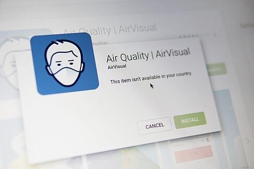 Vì sao ứng dụng AirVisual đột ngột biến mất khỏi kho ứng dụng tại Việt Nam
