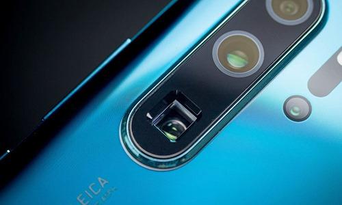 Ống kính tele trên smartphone của Huawei.