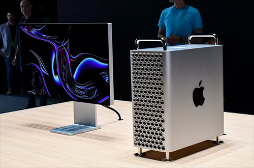 Apple khẳng định Mac Pro giá 6.000 USD được sản xuất và lắp ráp tại Mỹ. Ảnh: Verge.