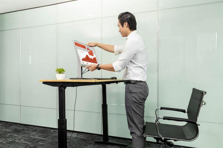 Màn hình tích hợp đa kết nối HP EliteDisplay cho văn phòng - ảnh 2