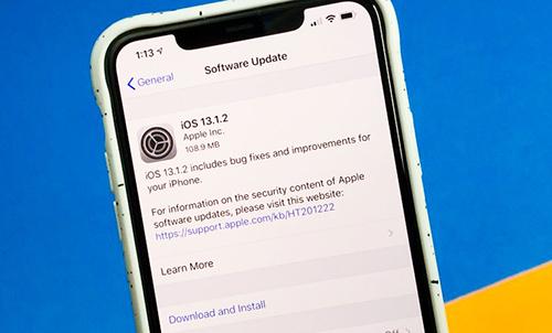 iOS 13.1.2 gặp lỗi về cuộc gọi. Ảnh: Gotta Be Mobile.