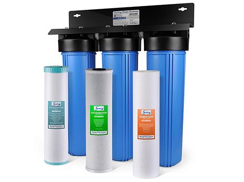 Máy lọc nước sử dụng than hoạt tính là loạiphổ biến nhất.